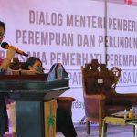 JG-KWL Dampingi Menteri PPPA Berdialog dengan Pemerhati Perempuan dan Anak di Minut